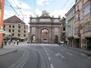 Triumphpforte, Triumphal Arch