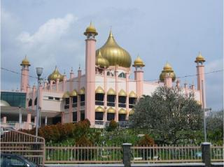Kuching Mosque Or Old State Mosque