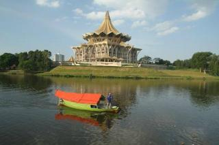 Kuching Esplanade And Waterfront