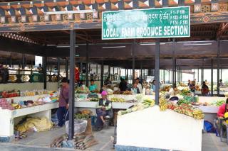 thimphu centenary farmers market