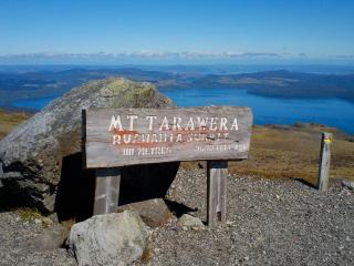 Mount Tarawera And Tarawera Falls