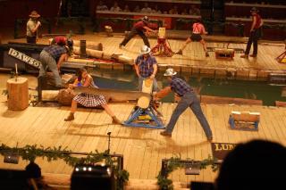 Lumberjack Feud Dinner Show