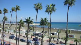 Finikoudes Beach And Promenade