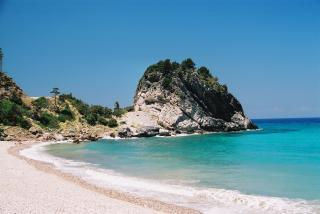 Greek Island Of Samos