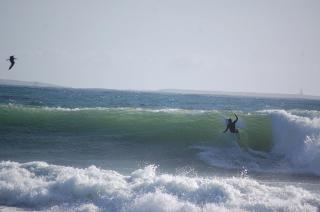 Surfing At San Miguel