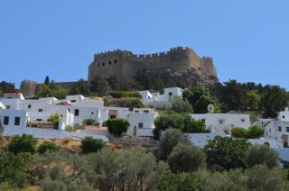 Village Of Lindos