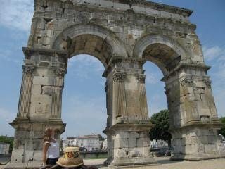 Museum Of Roman Triumphal Germanicus Arch