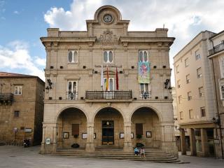 Plaza Mayor And Town Hall