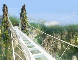 The Grand Canyon Of Zhangjiajie