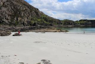 sound of sleat beach
