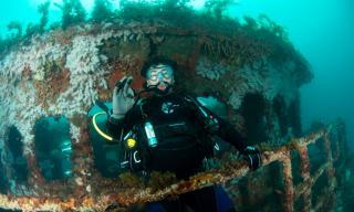 Lena Diving Wreck