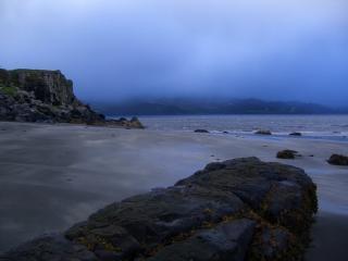 Staffin Beach