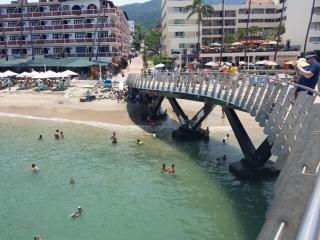 Playa Los Muertos pier
