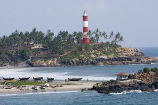 Vizhinjam Lighthouse And Beach