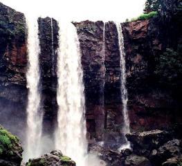 kapil dhara waterfall