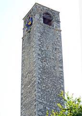 mostar clock tower
