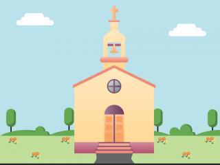 old orthodox church virgin mary