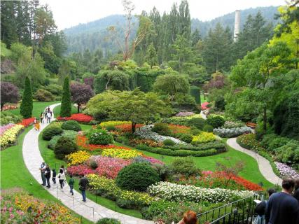 Butchart gardens victoria reviews ticket price - Best time to visit butchart gardens ...