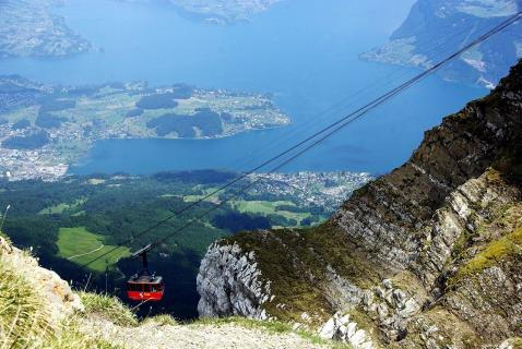 how to buy pilatus cablecar tickets