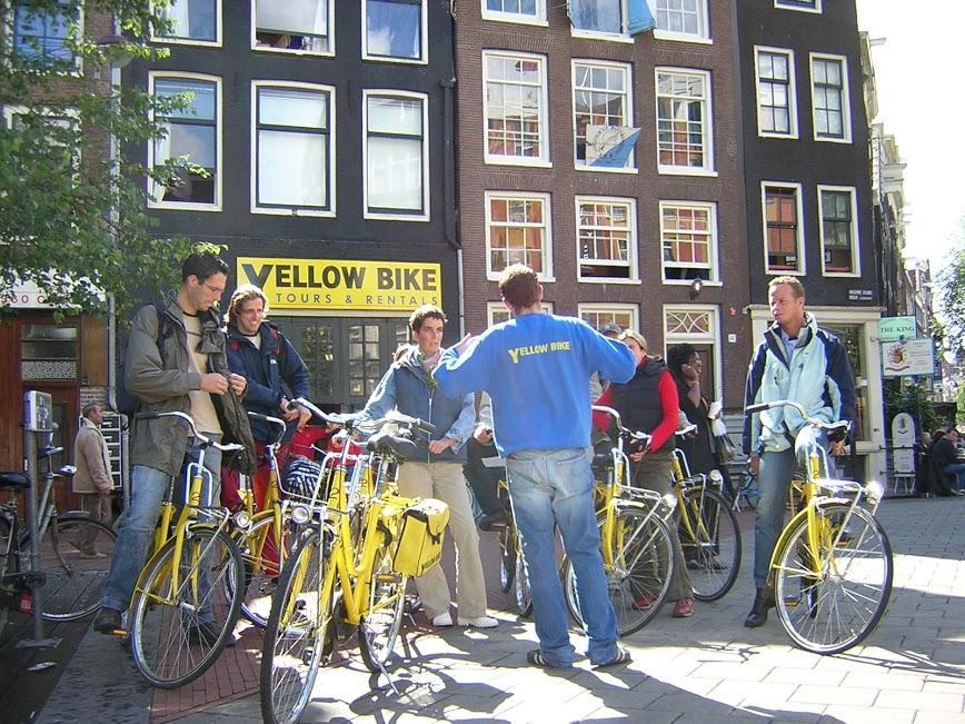 Small City Bike Tour - Amsterdam