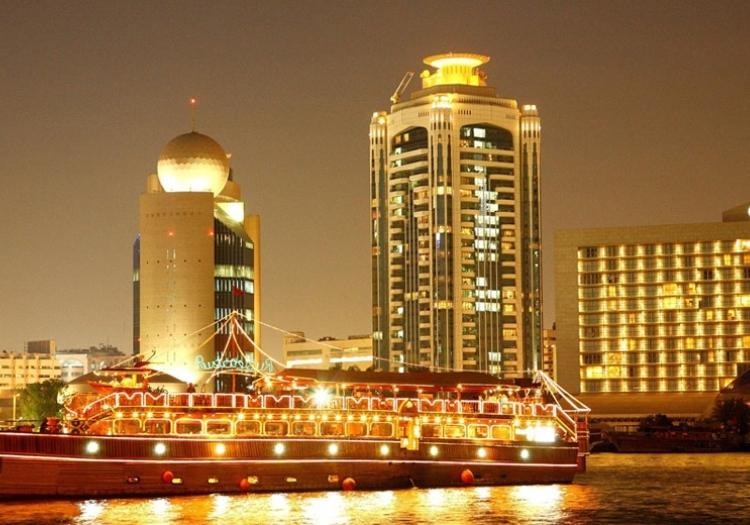 Dhow Cruise Including Deluxe Dinner - Dubai
