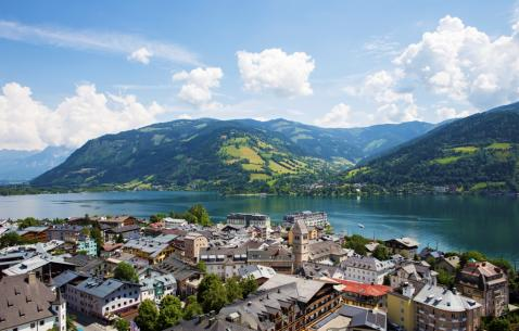 How to get in and get around Zell Am See