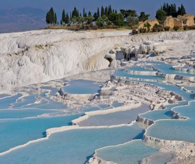 the travertine pamukkale thermal pools - Travertine Hotel 2015