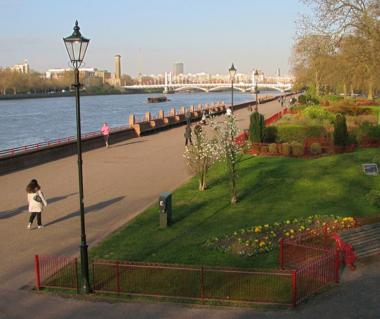 Battersea Park Tours