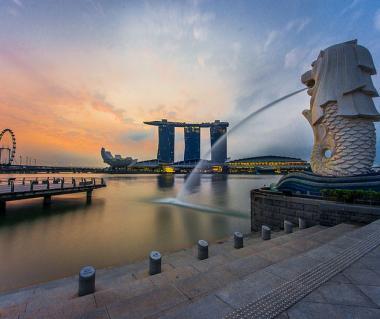 Sentosa merlion, Sentosa, Singapore, Asia