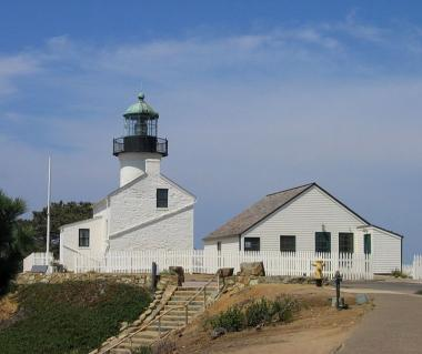 Old Point Loma Lighthouse And Cabrillo National Monument Tours