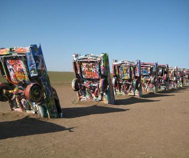 Cadillac Ranch And Second Amendment Cowboy Tours