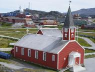 The Nuuk Cathedral Or Church Of Our Saviour