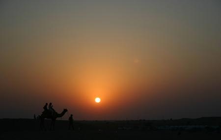 Sunset At Jaisalmer Image