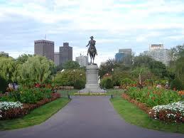 Boston Public Garden Image