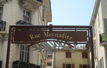 Rue Meynadier And Marche Forville, Cannes