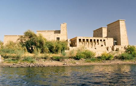 Temple Of Isis At Philae Image