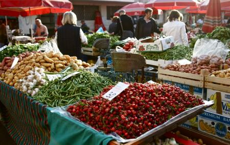 Dolac Farmer Market, Zagreb