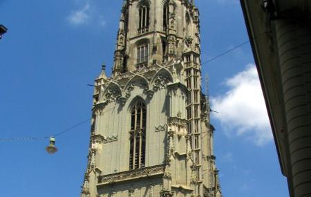 Cathedral At Munsterplatz Image