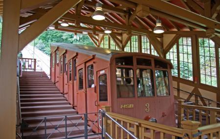 Konigstuhl Funicular Or Bergbahn Image