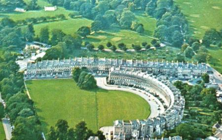 The Circus And The Royal Crescent, Bath