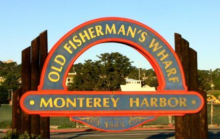 Coast Guard Pier And Old Fisherman's Wharf Image