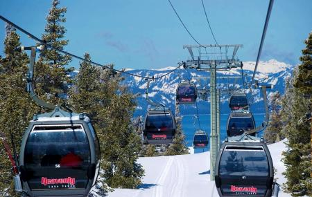 The Gondola At Heavenly, South Lake Tahoe