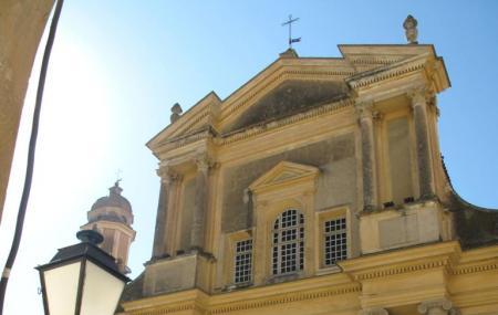 The Basilica Of St-michael The Archangel, Menton