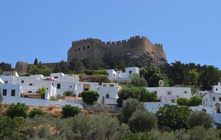 Village Of Lindos Image