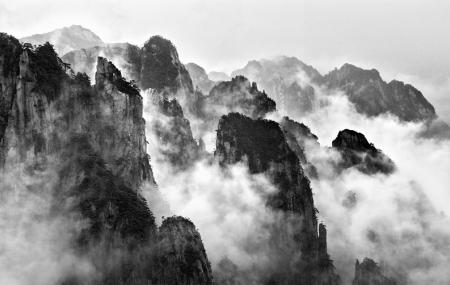 White Cloud Scenic Area, Huangshan