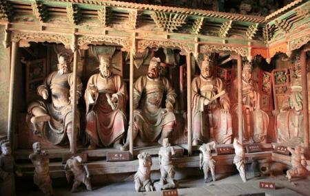 Shuanglin Temple, Pingyao