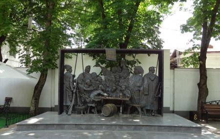 Monument Cossacks Writing A Letter To The Turkish Sultan, Krasnodar