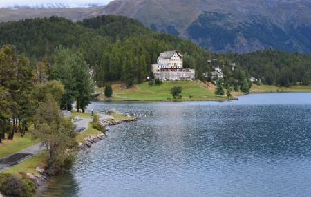 Lake Of Staz, St Moritz