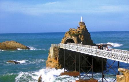 Virgin On The Rock, Biarritz