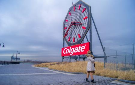 New Jersey Colgate Clock Image
